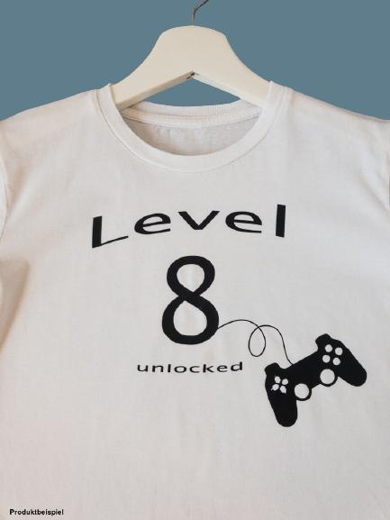 2626E3E0 5E85 4E9A B437 A09FCAE6991C 1 105 c removebg preview - Geburtstags-Shirt Level unlocked