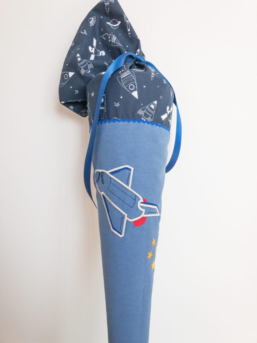 APC 0354 scaled e1629998310854 - Schultüte  70 cm groß - Space Shuttle  -individualisierbar